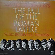 """OST - SOUNDTRACK - THE FALL OF THE ROMAN EMPIRE - DIMITRI TIOMKIN 12"""" LP (M802)"""