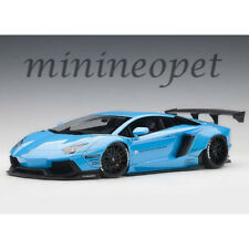 AUTOart 79107 LIBERTY WALK LB WORKS LAMBORGHINI AVENTADOR 1/18 METALLIC SKY BLUE