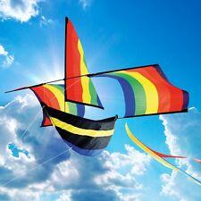 Rainbow Boat Single Line Kite - By Brookite