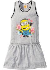 Mädchen Sommer T- Shirt Kleid Gr. 164/170 Ringerrücken Kinder grau 048 neu