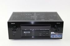 Denon AVR-X2400H Schwarz - 7.2 Heimkino-Receiver / Atmos / DTS Virtual:X / HEOS
