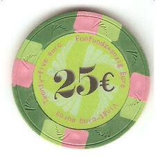 Fiches Real Clay Valore 25 Euro blister 25 pz
