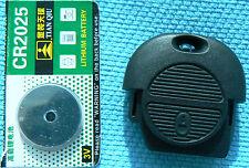 2 botón remoto caso clave Para Nissan Almera Micra Primera x-trial Con Batería