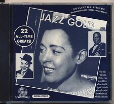 JAZZ GOLD 22 ALL TIME GREATS CD Collectors Issue