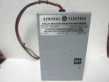 * GENERAL ELECTRIC CIRCUIT BREAKER OPERATING MECHANISM CT No. TEDMOMA1....MM-710