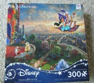 Disney ALADDIN Jasmine Thomas Kinkade Jigsaw Puzzle 300 PC
