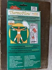THERMOFLOW Pain Relief ELASTIC KNEE SUPPORT BAND Brace Ceramics Large HEALING
