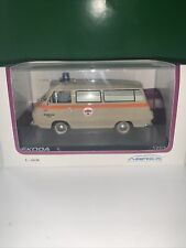 Skoda 1203 Ambulance medical (1974)  /Famous Czech cars collection /Abrex /1:43