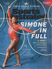 Sports Illustrated July 15, 2021 Simone Biles - Tokyo Summer Olympics, Flip Side