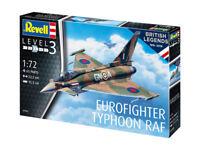Revell 03900 - 1/72 British Legends - Eurofighter Typhoon Raf - Neu