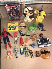vintage Toy Lot Transformers Ghostbusters Etc