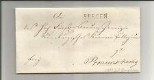 Braunschweig / SEESEN klarer L1 1823 auf Kabinett-Brief m. Inhalt, hübscher