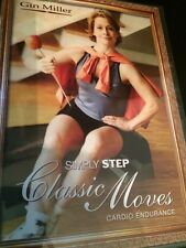 Gin Miller Simply Step Classic Moves Cardio Endurance (DVD) FAST SHIPPING