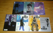 NYC Mech #1-6 VF/NM complete series + sketchbook - robot science fiction 2 3 4 5