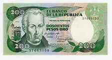 Colombia … P-429a … 200 Pesos … 1.4. 1983 … *UNC*