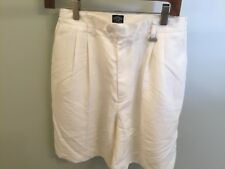 Callaway Golf Apparel Nordstrom Women's Shorts Pleated Off White New 10 Ladies