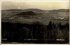 Chlum Křemže Tschechien alte Ansichtskarte 1928  Gesamtansicht mit Umgebung