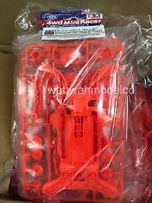 Tamiya Accessori Mini 4Wd Set Telaio Ar Chassis Arancio Fluorescente Art 95316