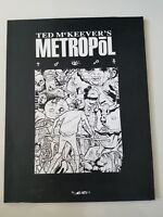 TED McKEEVER'S METROPOL Volume 3 GRAPHIC NOVEL 2001 1ST PRINT SOFTCOVER BOOK