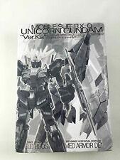 Gundam 1/100 MG Unicorn Armed Armor De Shield Booster Model Kit (Black & Blue)