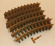 Lionel G Scale Brass Track 12 Curve Sections - Used