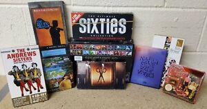 9 x Music Boxset CD Joblot- SF9 Kpop Sixties Billy Bragg Scissor Sisters Classic