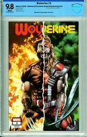 Wolverine #3 Unknown Comics / SLH Exclusive - Manufacturing Error - CBCS 9.8!