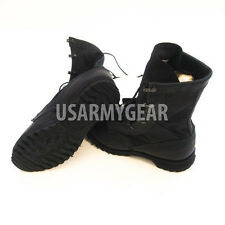 New Belleville US Made Black Hot Weather Leather Canvas Militay Army Boots 12 R