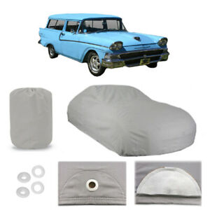 Ford Ranch Wagon 6 Layer Car Cover Fitted Outdoor Water Proof Rain Snow Sun Dust