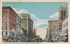 *(M)  Dayton, OH - Main Street - Looking North From Fifth Street