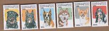1999 Cambodia Dogs, SG 1846/51, MUH, Set 6