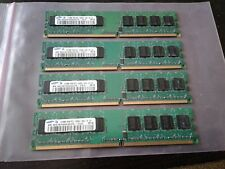 2GB SET - SAMSUNG 512MB X 4 PC2-3200U DDR2 DESKTOP MEMORY - 4 pieces @ 512MB EA