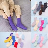 1Pair Warm Thick Socks Women Lady Sock Plush Fluffy Cozy Winter Fuzzy Bed Floor