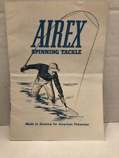 Vintage Airex Spinning Tackle Catalog Lionel Late 50's Early 60's