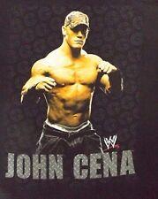 VINTAGE XL BLACK  WWE JOHN CENA GRAPHIC 100% COTTON  CREW NECK TEE SHIRT