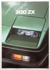 V14158 NISSAN 300 ZX - CATALOGUE - 06/84 - A4 - D