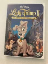 Lady and the Tramp II: Scamps Adventure (DVD, 2001)