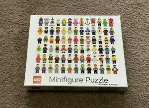 Chronicle Books- Lego Minifigure Puzzle (1000 Pieces Jigsaw Puzzle)