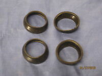 MG NEW MGB ROADSTER OR GT LOWER TRUNION RUBBER DUST SEALS SET OF 4 1962-1980 w1c