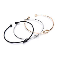 Chic Women Knot Adjustable Bracelet Bangle Chain Jewelry Gift brazalete  SG