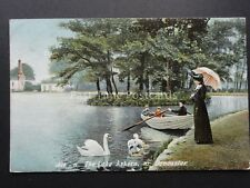 Yorkshire DONCASTER ASKERN The Lake c1906 Postcard by Hartmann 2605 11