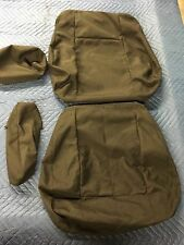 Hummer H1 Alpha 2006 Rear Military Cloth Seat Cover