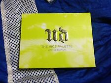 Urban Decay The Vice Palette VICE LTD Limited Ed Eyeshadow Palette AUTHENTIC