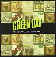 GREEN DAY STUDIO ALBUMS 1990-2009 8 CD ALBUM SET (2012)