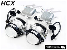 30W Bi-LED projectors Low/High beam 5000K Headlight Retrofit Tuning Hi/Lo Lens
