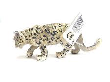 128) nuevo collecta 88496 nieve Leopard leoprad Mega hermosa figura!