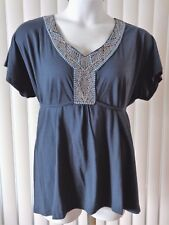 French Laundry Shirt Top Size 14 16 NWT
