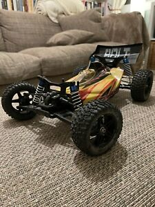 1/10 RC Car Buggy FS Racing Team Bolt - with Hop Up Wheels / Tyres Almost RTR