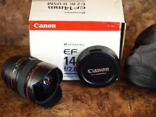 Canon EF 14mm f/2.8L II USM Lens - Near-Mint