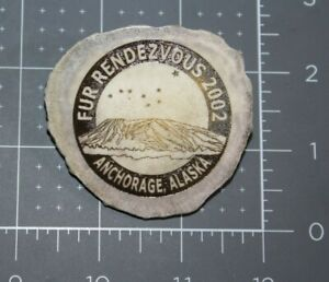 2002 Anchorage Alaska Fur Rendezvous ANTLER SLEEPING LADY Rondy Pin Numbered